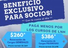 Beneficio exclusivo para socios